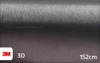 3M 1080 BR201 Brushed Steel folie