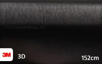 3M 1080 BR212 Brushed Black Metallic folie