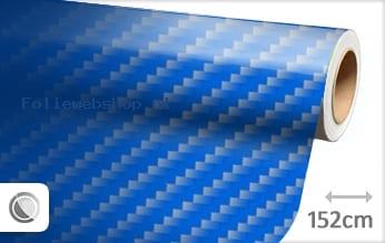 1 mtr 2D carbon blauw