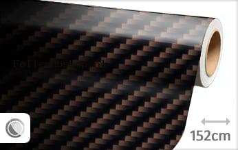 Bruin 2D carbon folie