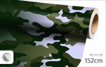 Camouflage groen folie