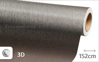 Geborsteld aluminium antraciet folie