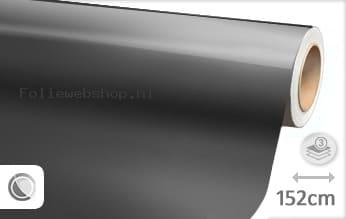 Glans metallic antraciet folie
