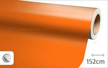 Glans oranje folie