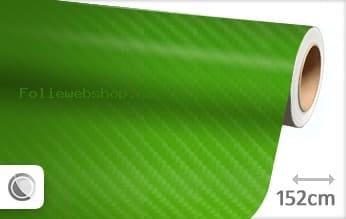 1 mtr 4D carbon groen