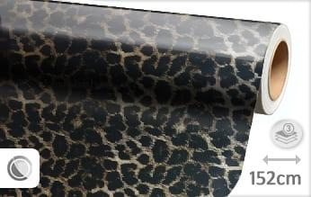 Luipaard print folie