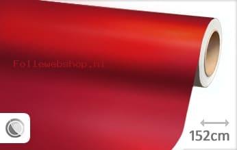 Mat chroom rood folie