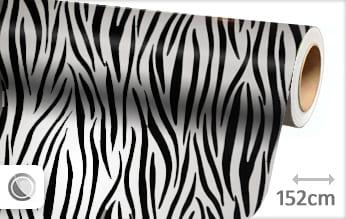 1 mtr Zebra print