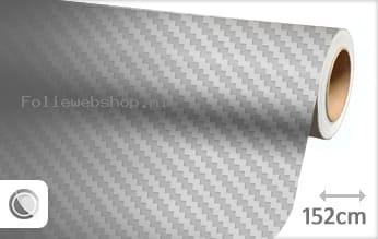Zilver 3D carbon folie