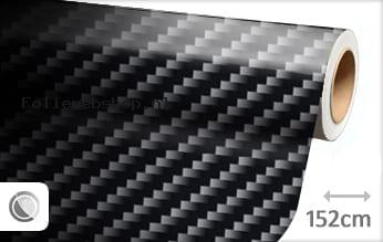 Zwart 2D carbon folie
