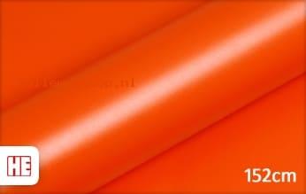 4 mtr Hexis HX20165M Mandarin Red Matt