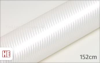 Hexis HX30CABPEB Carbon Pearl White Gloss folie